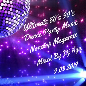 Ultimate 80's 90's Dance Party Nonstop Music Megamix - Mixed By Dj