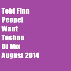 Tobi Finn - Peopel want Techno Vol 1