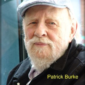 Patrick Burke - designer and typographer and author of two novels.