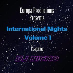 Europa Productions - DJ Nicko International Nights Volume 1