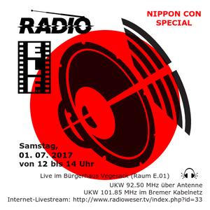 Radio E.L.F. Sendung 01. 07. 2017 - Nippon Con Special