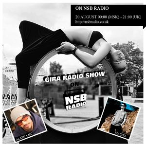 GIRA RADIO SHOW on NSB RADIO, 20 AUGUST