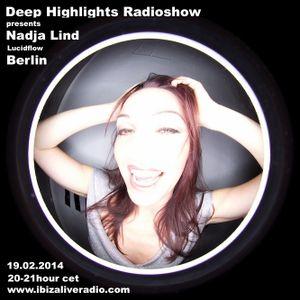 Deep Highlights Radioshow Vol.19 mixed by  Nadja Lind