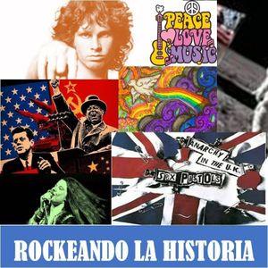 """Rockeando la historia - """" Movimiento hippie """" (9/Febrero/2017)"""