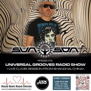 Sun Son AKA Coco Ariaz Presents - Universal Grooves Radio Show 038