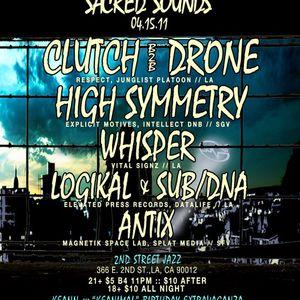Logikal&Sub/DNA-live@SacredSoundsApril2011
