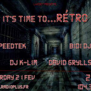 David Grylls set it's Time To Rétro / radioplus.fr 02/2015