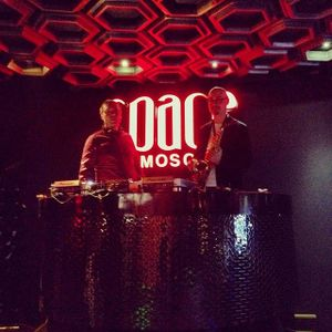 Syntheticsax & Dj Sandr -The club Space Moscow (Welcome Live Record)
