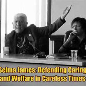 Selma James speaking on Defending Caring and Welfare in Careless Times at UCD Dublin