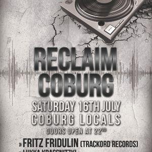 Fritz Fridulin @ Reclaim Coburg! ( 17-02-2012 )