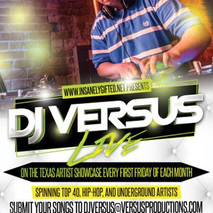 Texas Artist showcase - DJ Versus - 7/4/14