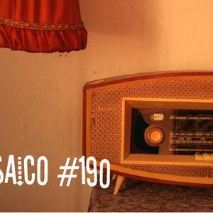 Mosaico 190: Pipo Pegoraro, The BlueBeaters, Quantic, Mañaners, Nicola Conte