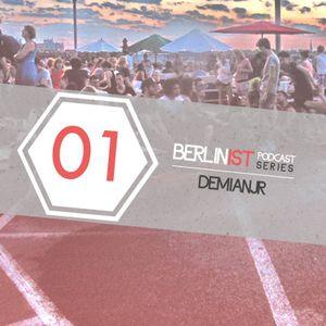 BERLINIST Podcast series 01 - BERKER KURCAN a.k.a dEmianjr