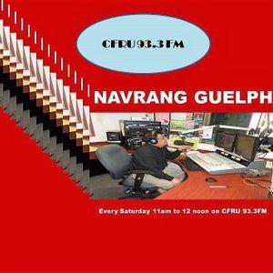 Navrang Guelph September 13,2018 - A fill-in.  A sp prog on 9/11, Kiran Ahluwalia and Gayatri Mantra