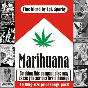MARIHUANA - 10 king size joint songs pack - Fine blend by Cpt. Sparky