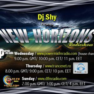 DJ Shy Presents New Horizons 037