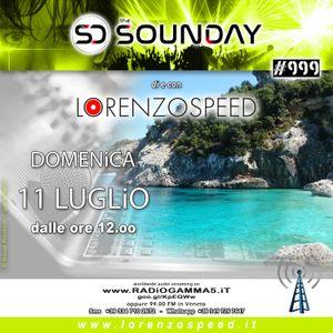LORENZOSPEED* presents THE SOUNDAY Radio Show Domenica 11/7/2021 total audio podcast edition vamonos