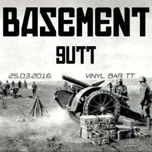 Gutt live set@BASEMENT 25.3.2016