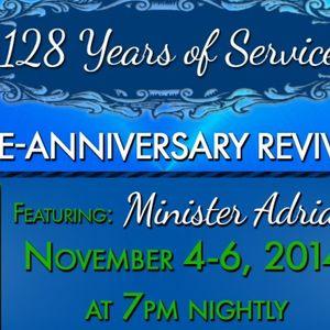 Springhill Pre-Anniversary Revival Night 1 - Audio