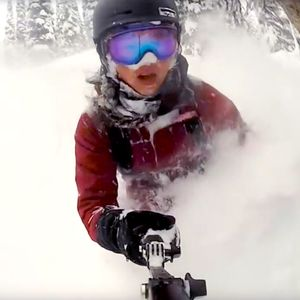 For all of us freeriders and snowboarders out there in need of immersion