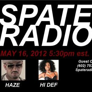 UK Rapper HAZE On Spate Radio with Holly Hi Def Daniels