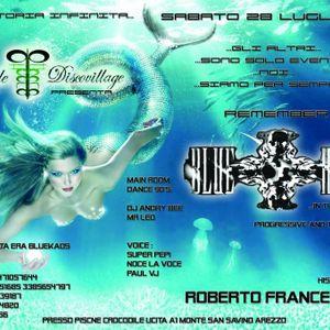 BLUE KAOS UNA STORIA INFINITA DJ'S PIPI & MIKELINO VOCE ROBERTO FRANCESCONI 28-07-012