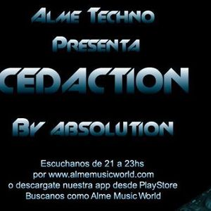 Absolution - Cedaction 014 - 28-06-2016 / Alme Music World - Guest Mix Pasky