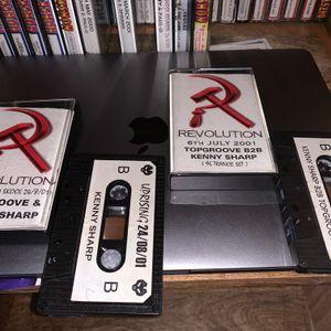 Revolution DJ Kenny Sharp 6-7-01 MC Domer.