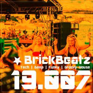 BrickBeatz - Podcast 19.007 [Tech | Deep | Funky | Groovy House]