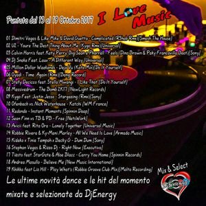 DjEnergy - I Love Music (14 Ottobre 2017)