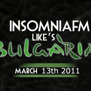Deep Cult - InsomniaFm Like's Bulgaria [13 March 2011] on InsomniaFm