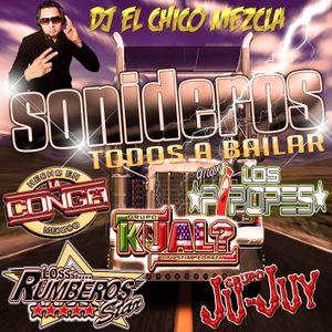 DJ EL Chico Mezcla Sonideros Todos A Bailar 2017