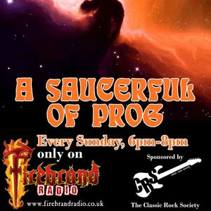 A SAUCERFUL OF PROG with Steve Pilkington (Broadcast 7 Jan 2018)