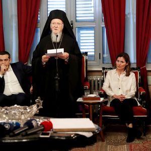 Χαιρετισμός Οικουμενικού Πατριάρχη Βαρθολομαίου - Χάλκη