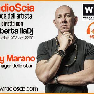 23 Dicembre 2018 WILLY MARANO -Il manager delle star