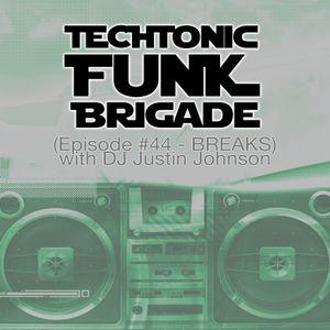 Techtonic Funk Brigade - EP #44