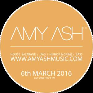Amy Ash live on EffectFM 030617 // Hiphop / Grime / Bass House / UKG / Garage