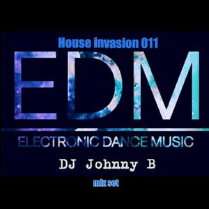 HOUSE INVASION 011 [MIXED SET BY: DJ JOHNNY B ]