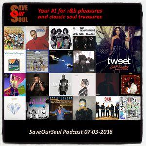 SaveOurSoul Podcast 07-03-2016