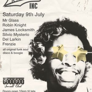 A tasty disco funk sample of what Mr Glass has planned for the dance floor for the Funkinc party at
