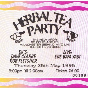 Ege Bam Yasi live at Herbal Tea Party in Manchester on 25 May 1995