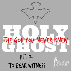 """Holy Ghost, The God You Never Knew - Part 7 """"To Bear Witness"""""""