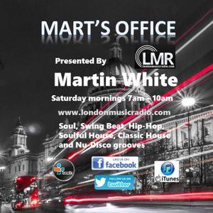 17.06.17 Mart's Office London Music Radio