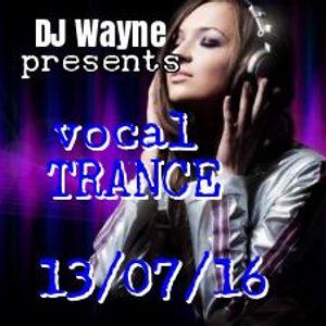 Vocal Trance Mix(13.07.16)