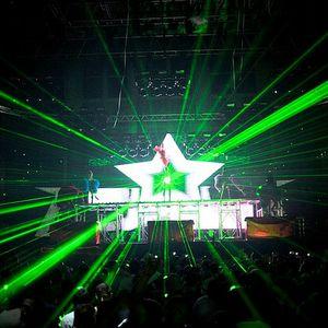 Virtual DJ on laptop mix :)