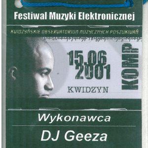 DJ geeza - Live at KOMP2001 festival afterparty vol.2