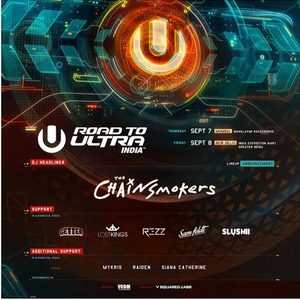 The Chainsmokers - Live @ Road To Ultra India 2017