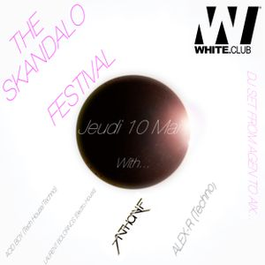 Hello It's my latest dj set live for Skandalo Electronic Party @ White Thursday 10 !