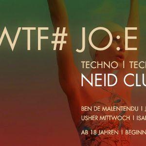 WTF# JO:E @ Neid Club - Schmitz Katze 12.09.2014 (snippet)