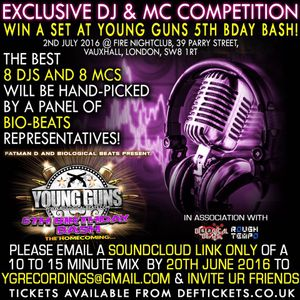 || GI JONES || YOUNG GUNS 5TH BIRTHDAY COMPETITION ENTRY ||